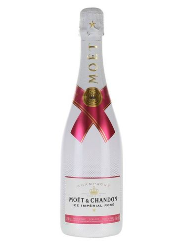 CHAMPAGNE ICE ROSE 75CL FL MOET & CHANDON